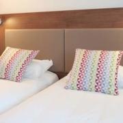 Chambre standard à 2 lits de l'hôtel Campanile Limoges Centre-Gare