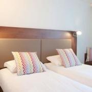 Chambre supérieure à 2 lits de l'hôtel Campanile Limoges Centre-Gare