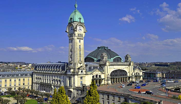Gare de Limoges à proximité de l'hôtel Campanile de Limoges Centre-Gare