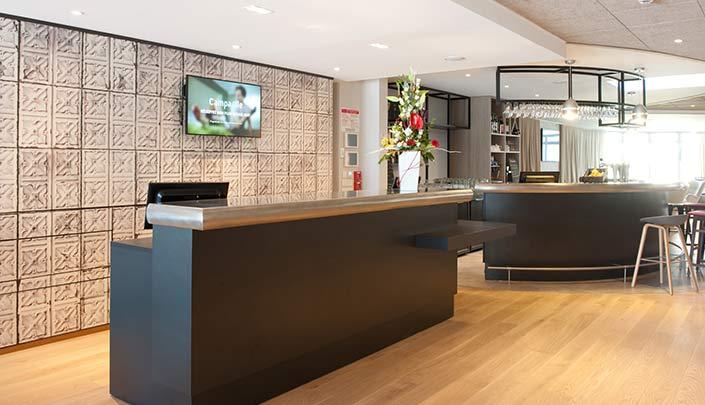 Réception de l'hôtel Campanile Limoges Centre-Gare