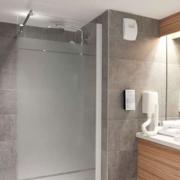 Salle de bains de l'hôtel Campanile Limoges Centre-Gare