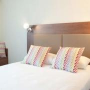 Chambre standard double de l'hôtel Campanile Limoges Centre-Gare