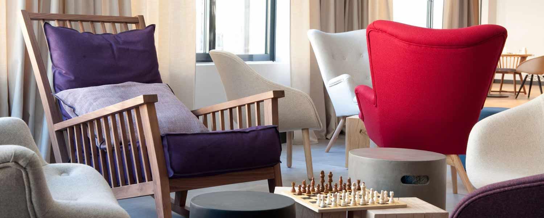 Espace détente, loisirs et jeux de de l'hôtel Campanile Limoges Centre-Gare