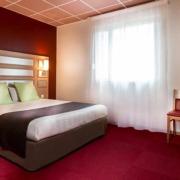 Chambre double Confort de l'hôtel Campanile Metz Nord – Talange
