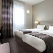 Chambre double Supérieure à lits-jumeaux de l'hôtel Campanile Metz Nord - Talange