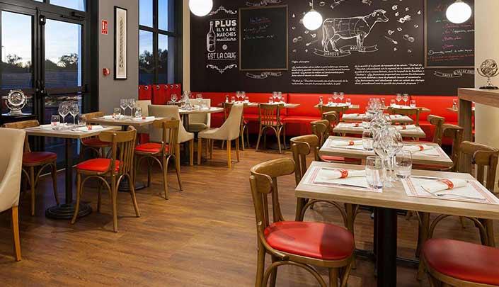 Restaurant Bistrot du Boucher partenaire de l'hôtel Campanile Metz Nord – Talange