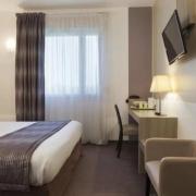 Chambre double Supérieure de l'hôtel Campanile Metz Nord - Talange