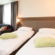 Chambre standard 2 lits de l'hôtel Campanile Metz Centre-Gare