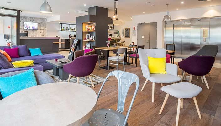Bar-Lounge de l'hôtel Campanile Metz Centre-Gare
