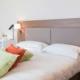 Chambre double adaptée PMR de l'hôtel Campanile Metz Centre-Gare