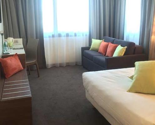 Chambre supérieure de l'hôtel Campanile Metz Centre-Gare