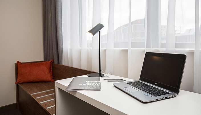 Détail de chambre de l'hôtel Campanile Metz Centre-Gare