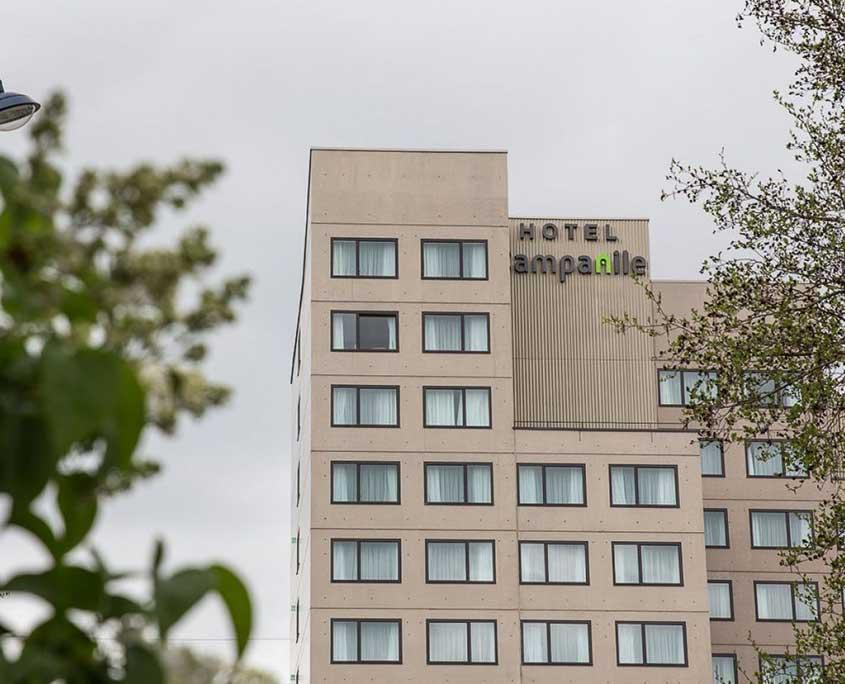 Façade de l'hôtel Campanile Metz Centre-Gare