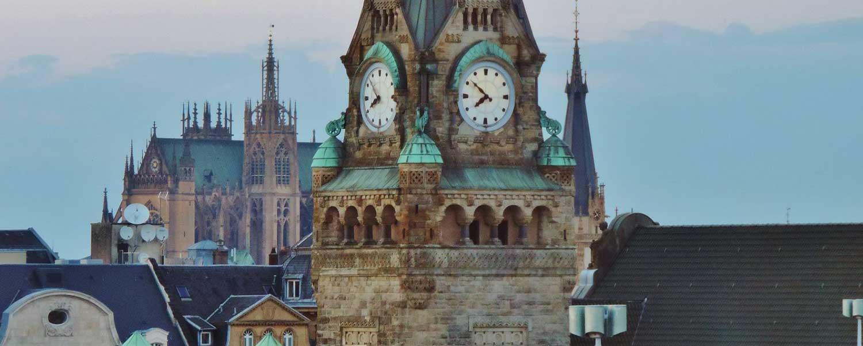 Gare de Metz, à côté de l'hôtel Campanile Metz Centre-Gare