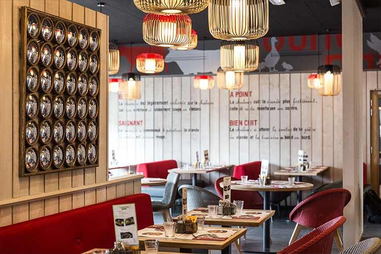 Restaurant Courtepaille partenaire de l'hôtel Campanile Metz Centre-Gare