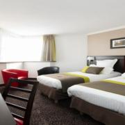 Chambre lits-jumeaux de l'hôtel Campanile Reims Centre-Cathédrale