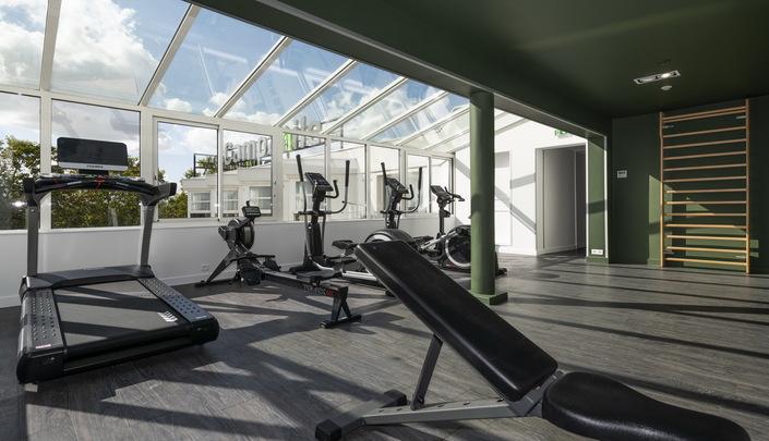 Salle de sport de l'hôtel Campanile Reims Centre-Cathédrale