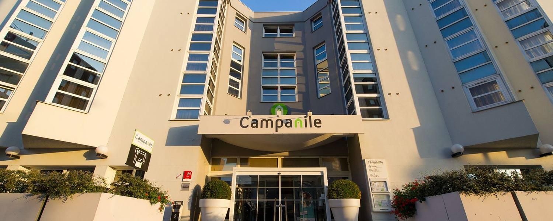 Façade de l'hôtel Campanile Reims Centre-Cathédrale