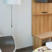 Chambres communicantes de l'hôtel Kyriad Pontarlier
