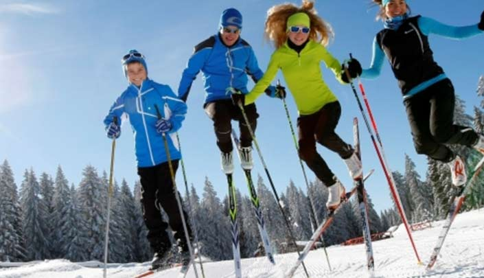 Sports d'hiver à proximité de l'hôtel Kyriad Pontarlier