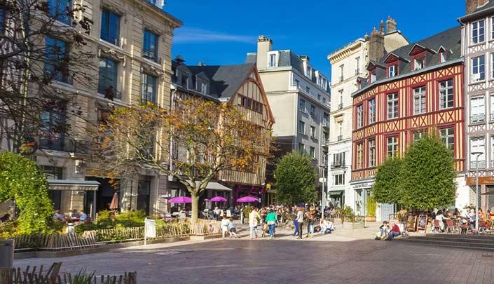 Vieille ville de Rouen à proximité de l'hôtel Kyriad Rouen Sud - Val de Reuil
